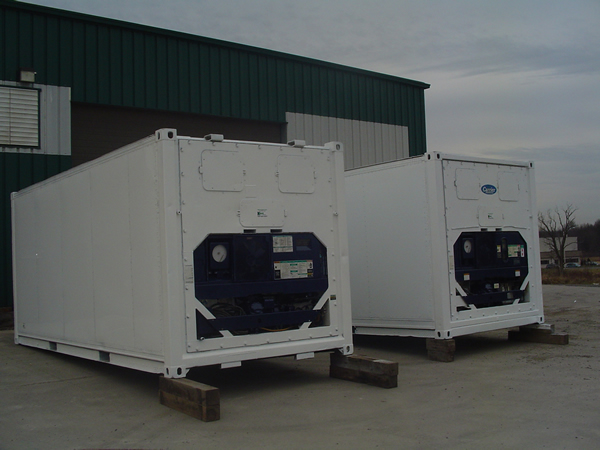 Refrigerated Container & Freezer Rentals