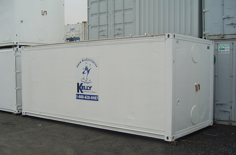 Used Freezer Container Units